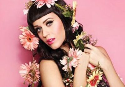 Katty Perry, flowers, beauty