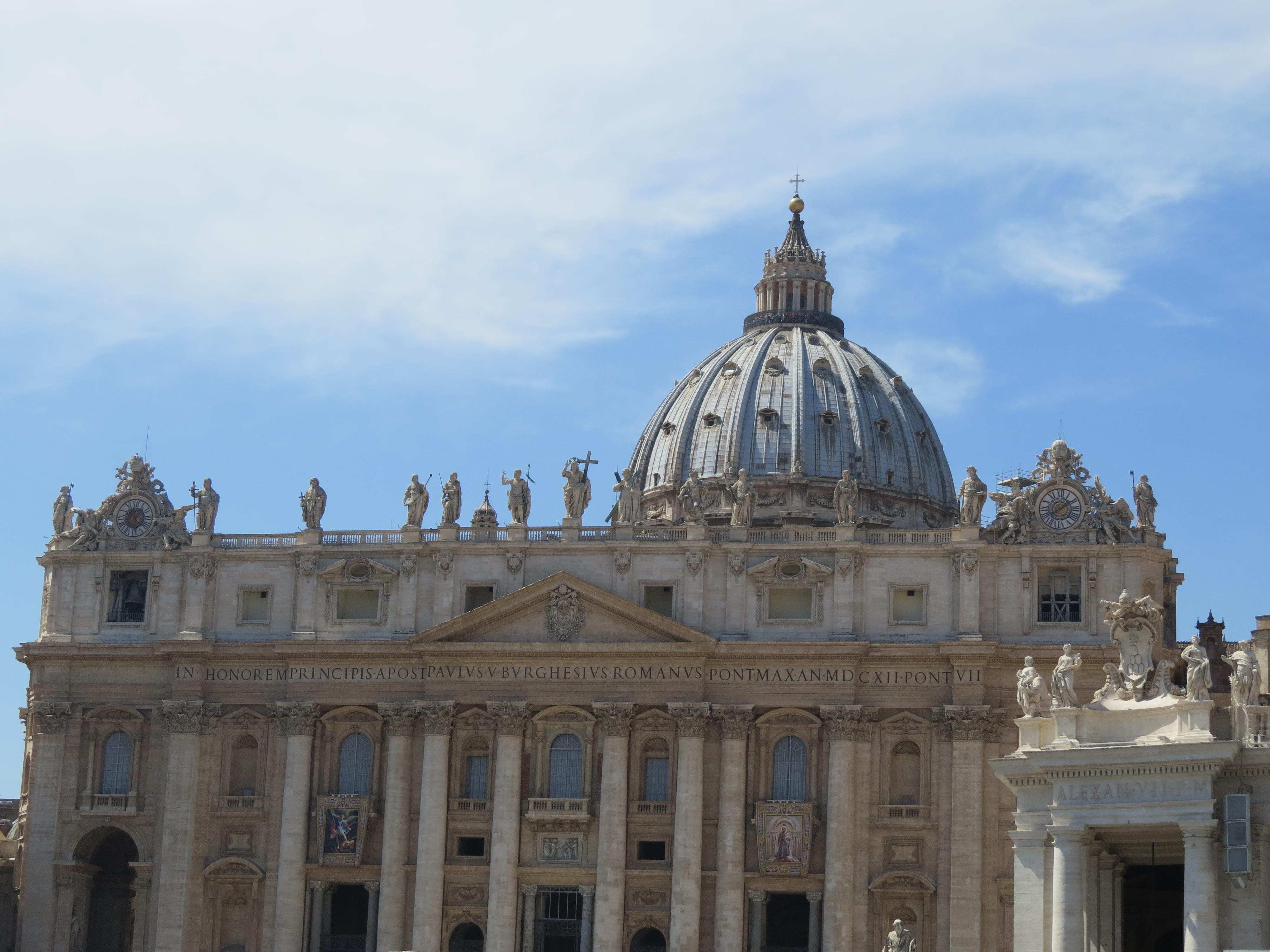 Ватикана - най-малката държава в света