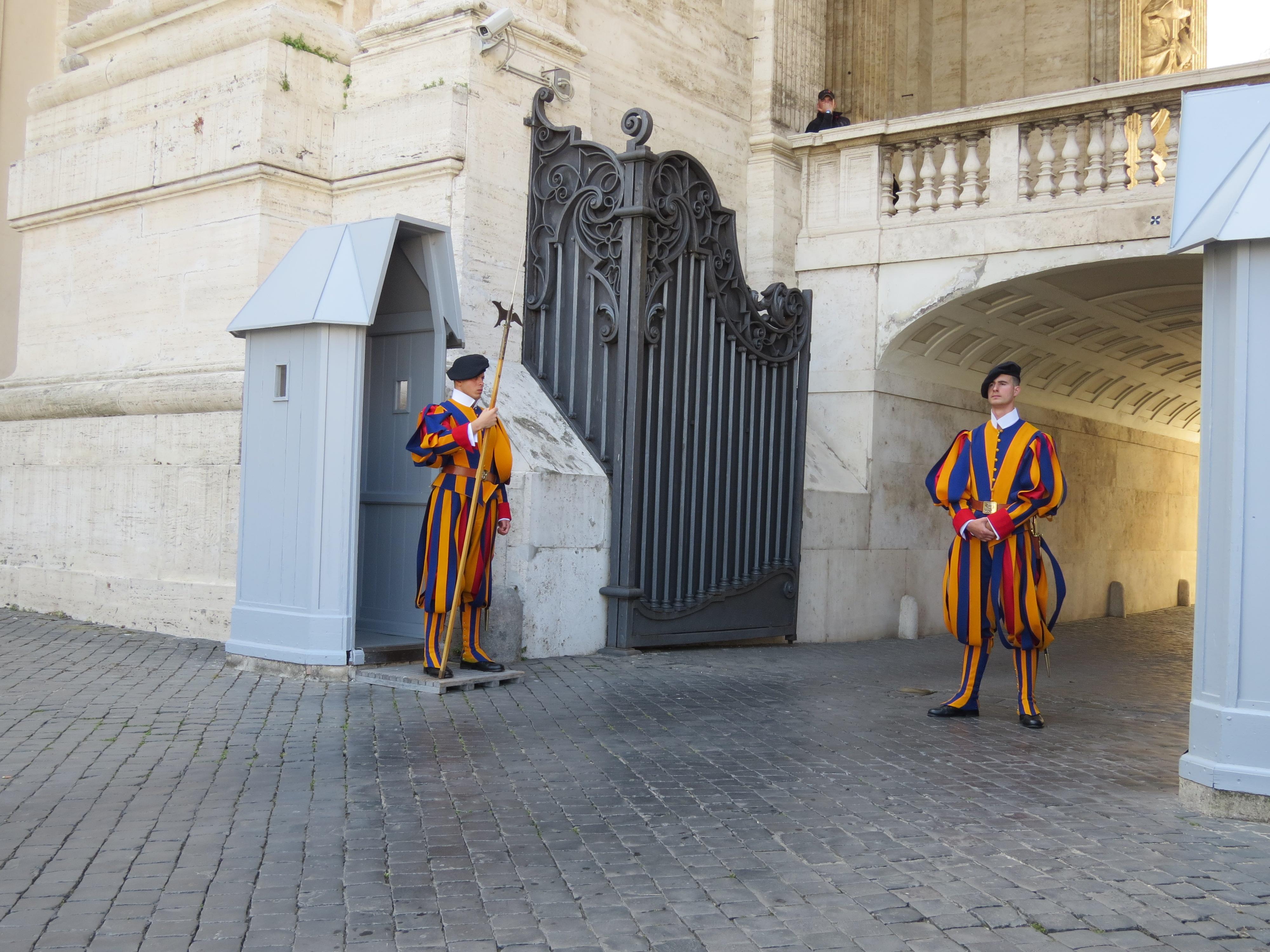 Гвардейци на стража