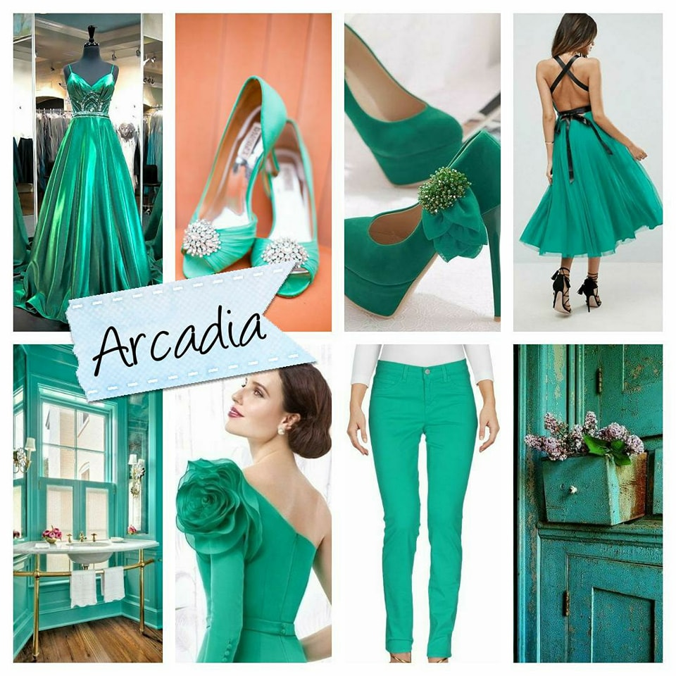 Pantone, arcadia, color, trends spring, 2018 trends, spring dresses