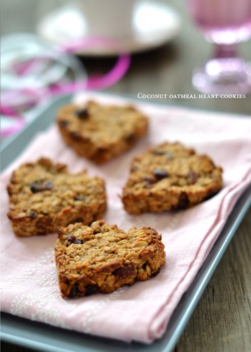 овесени бисквити, кокос, сладки