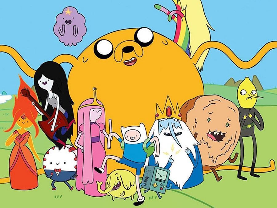 Време за приключения по Cartoon Network