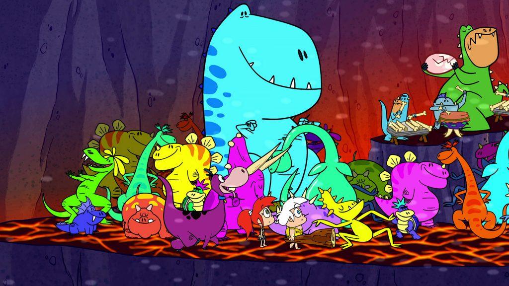 Семейство Флинтстоун се завръща в новата поредица Yabba Dabba Dinosaurs